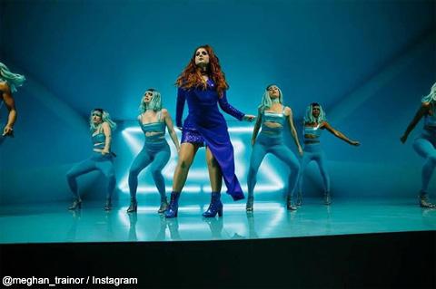 メーガンがインスタグラム上で公開している「Me Too」MVの一幕