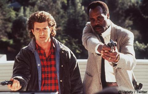 「リーサル・ウェポン」※写真は映画版(1987年公開)