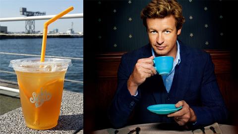「メンタリスト」パトリック・ジェーンが愛する紅茶にインスパイアされたスペシャル・メニュー、SODA BARにて発売開始