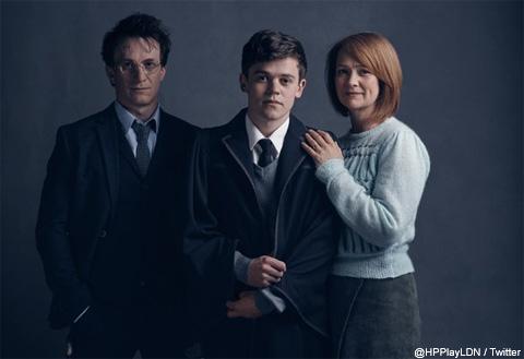 舞台版「ハリー・ポッター」 ポッター家の3人