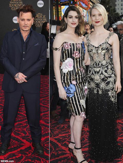 ジョニー・デップ出演「アリス・イン・ワンダーランド」最新作プレミアで、テロの疑いで逮捕者が出ていたことが明らかに