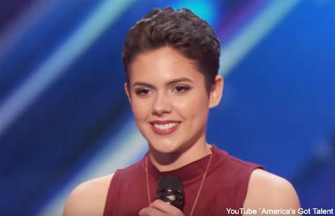 がんを克服した16歳の少女が歌う「ファイト・ソング」に全米が感動! あの辛口審査員サイモンも大絶賛[動画あり]