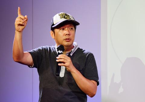海ドラカフェに登場した山口敏太郎氏