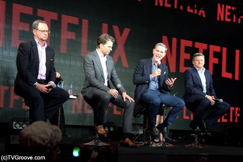 (左から)フリードランド、ピーターズ、ヘイスティングス、サランドス (c)TVGroove.com