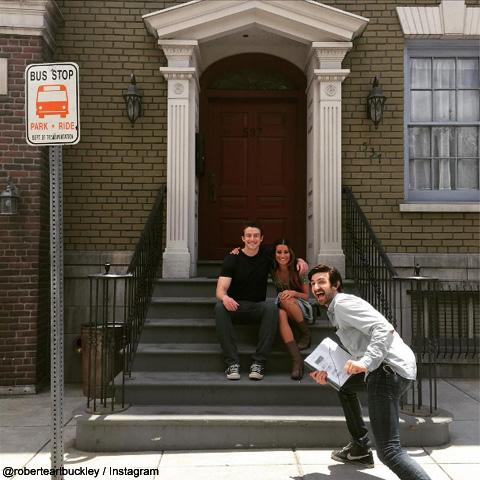 撮影現場でも仲がよさそうだった、リアとロバートだが……