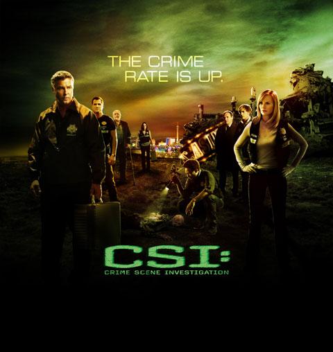 ドラマ「CSI:科学捜査班」