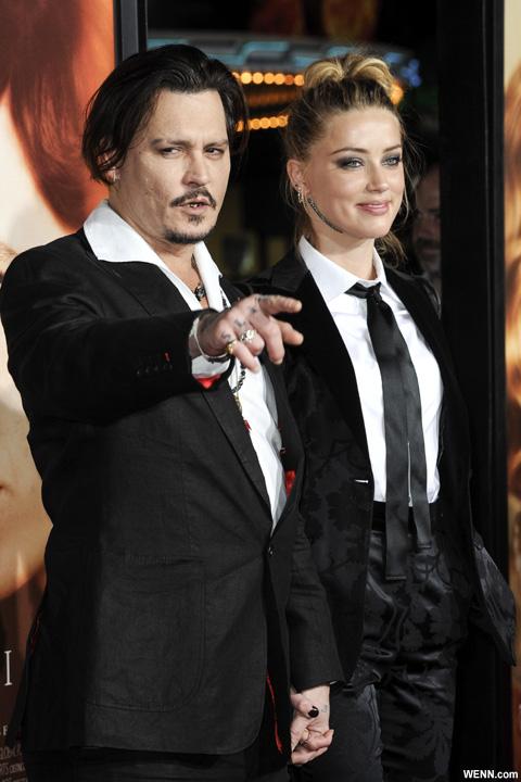 ジョニー・デップとアンバー・ハード 2015年11月撮影
