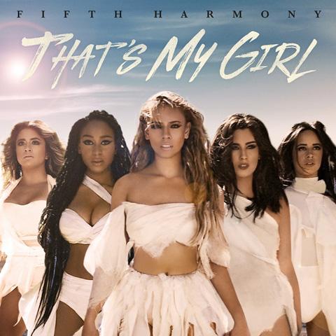 最新シングル「That`s My Girl」ジャケット写真
