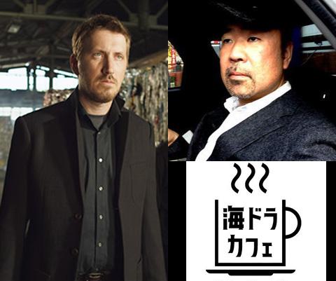 (写真左)スニッファー役キリル・カロ (写真右上)なかざわひでゆき