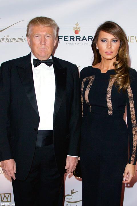 ドナルド・トランプとメラニア夫人