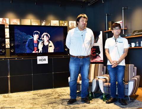 (左から)佐藤正晃、石田記理