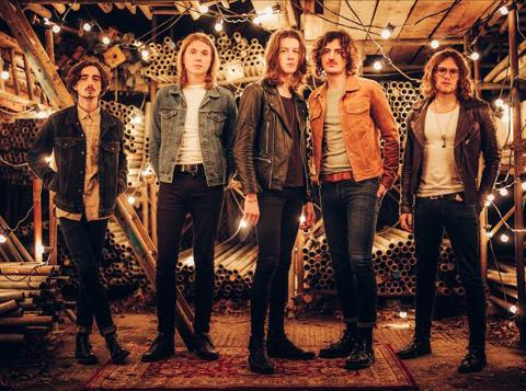 UKギター・ロック・シーンの新星「ブロッサムズ」、来年1月に来日公演決定