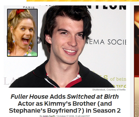 ジミーを演じることが発表された、アダム・ハーゲンブック