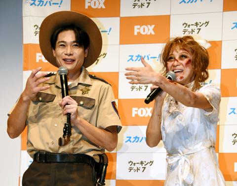 平成ノブシコブシ 吉村崇(左)、鈴木奈々