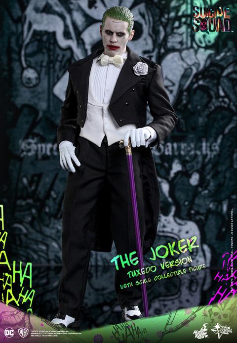 恋する犯罪王子がタキシード姿でお出迎え! 「スーサイド・スクワッド」から、タキシード版ジョーカーがホットトイズ・フィギュア化