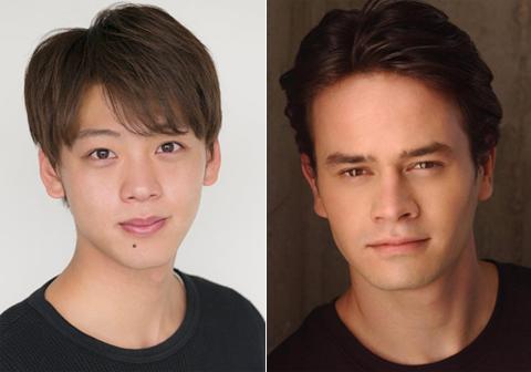 竹内涼真(左)、ダニエル・ローガン