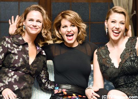 美しく成長した3人の女性