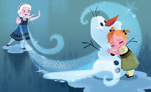 稀にみる大ヒット作となった「アナと雪の女王」(2013年)