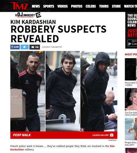 逮捕された容疑者たち