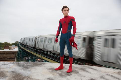 「スパイダーマン:ホームカミング」より