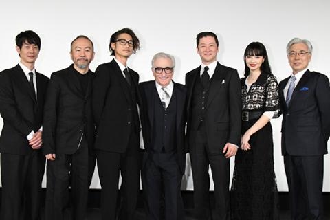 マーティン・スコセッシ監督と日本人キャスト