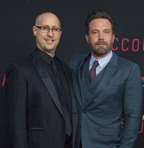 ギャビン・オコナー(左)、ベン・アフレック