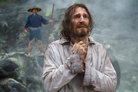 「沈黙-サイレンス-」より神父フェレイラを演じたリーアム・ニーソン