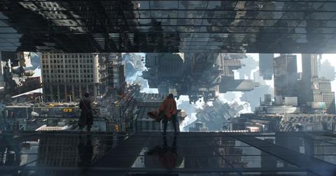 「ドクター・ストレンジ」上下180度反転の特別映像公開! 主演カンバーバッチからメッセージも[動画あり]