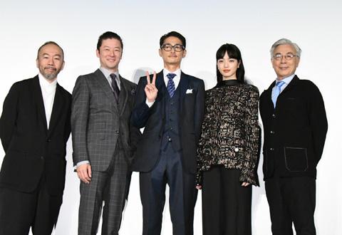 「沈黙-サイレンス-」日本の精鋭キャストが集結! 初日舞台挨拶レポート
