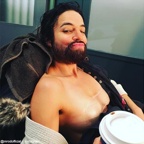 """劇中では""""男性""""を演じたミシェル・ロドリゲス"""