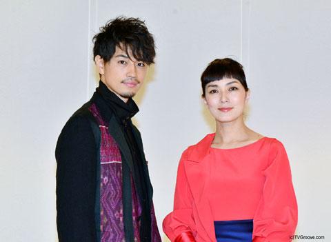 斎藤工(左)、板谷由夏