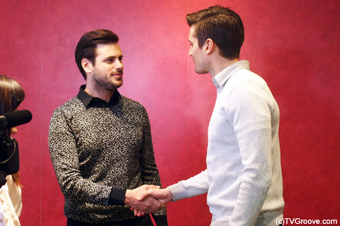 「ルカです」「ステファンです」という自己紹介ではじまったインタビュー