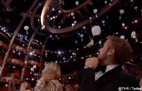 アカデミー賞の会場にキャンディー、クッキー、ドーナツが降ってきた! かわいい演出にセレブたちも大はしゃぎ[動画あり]