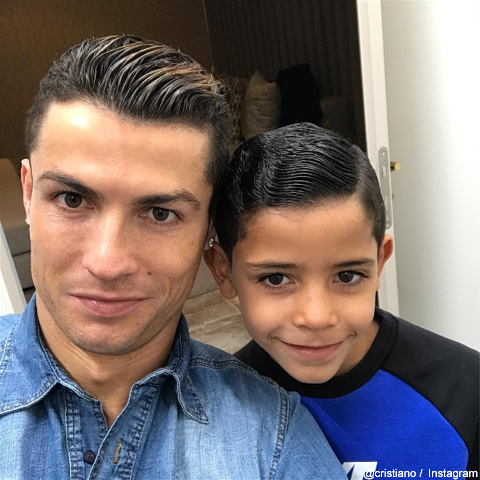 クリスティアーノ・ロナウドと息子
