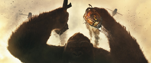 「キングコング:髑髏島の巨神」より