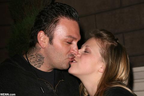 ジョディ・スウィーティンとコーディ・ハーピン 2008年10月撮影