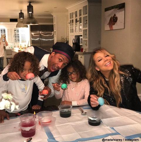 マライア・キャリーと家族