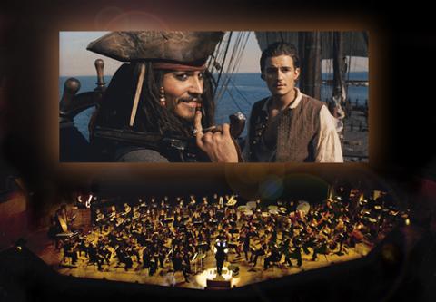 「パイレーツ・オブ・カリビアン」1作目が大スクリーンに再び! 映画の全楽曲をオーケストラとスクリーン映像で聴けるコンサートが日本初上陸
