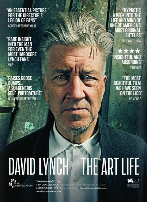 「David Lynch: The Art Life(原題)」ポスター