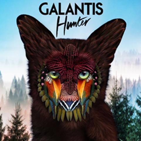 ギャランティスの新曲「ハンター」のアートワーク