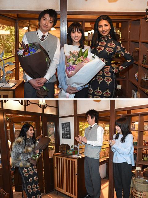 ドラマ「リバース」に出演する、藤原竜也さん、戸田恵梨香さんと
