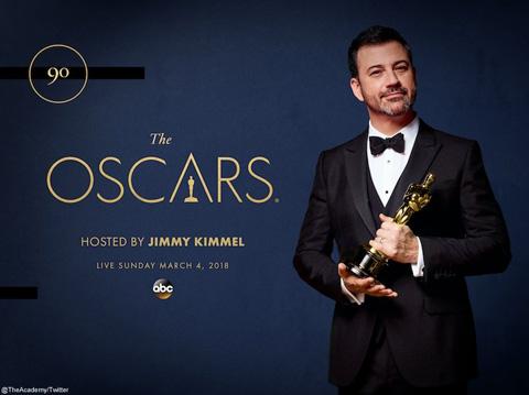 第90回アカデミー賞授賞式のホストに人気司会者ジミー・キンメルが決定! 2年連続2度目の抜擢
