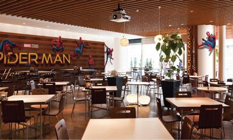 映画「スパイダーマン:ホームカミング」公開記念!  「スパイダーマンカフェ」が5/29~6/15までヒルズカフェ/スペースにて期間限定オープン
