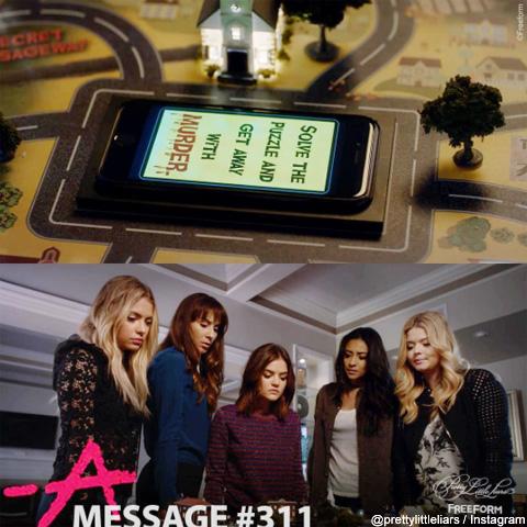 ドラマに登場するボードゲームと携帯電話