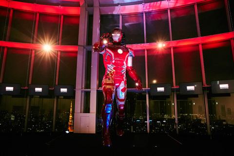 5メートルのアイアンマン