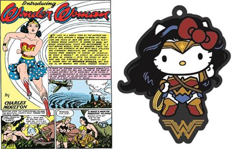 ワンダーウーマン初登場コミックの復刻版