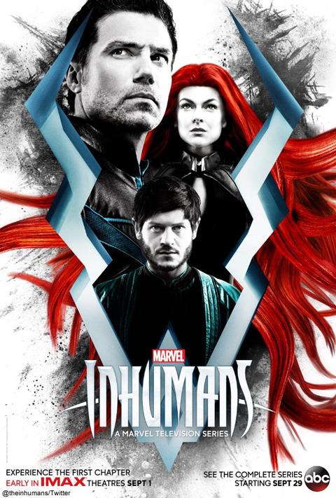 「Marvel's The Inhumans」ポスター
