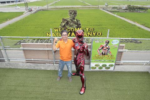 「パワーレンジャー」と初コラボ!