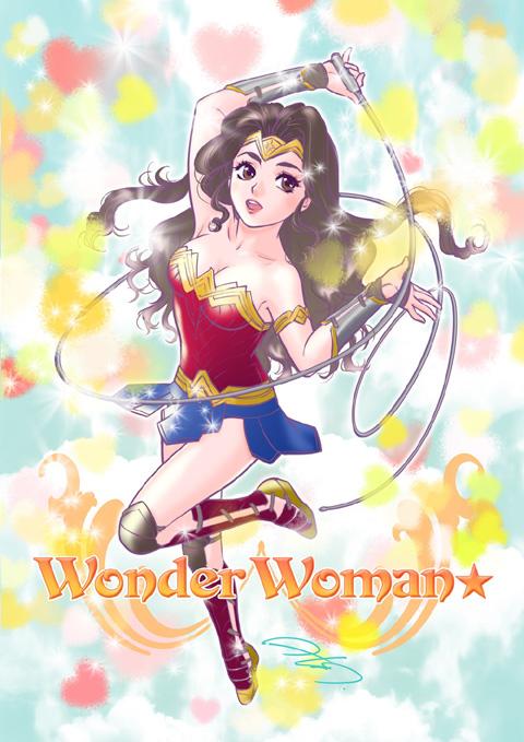 高田明美さんとコラボレーションした「ワンダーウーマン」