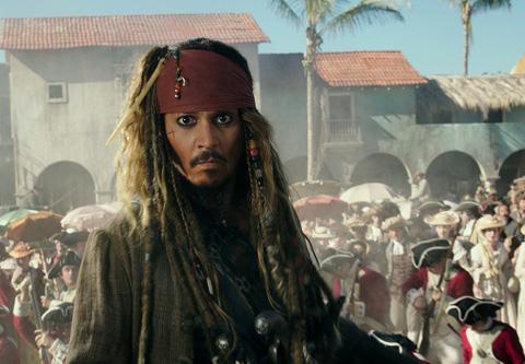 「パイレーツ・オブ・カリビアン/最後の海賊」より